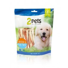 2Pets Chicken&Fish Twist 400g