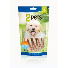 2Pets Chicken&Fish Twist 100g