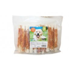 2Pets Tuggrulle med Kyckling 17 cm 18-pack XL, 840g