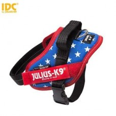 Julius K9 IDC Sele Mini-Mini USA Flagga